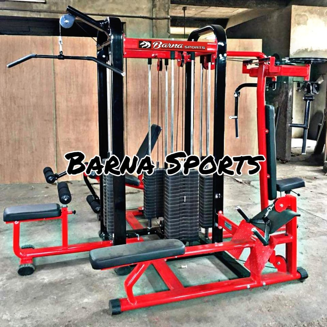 Barna Sports Multi gym manufacture in jalandhar delhi meerut 4 station multi gym 8 station multi gym 12 station multi gym