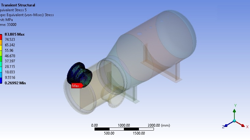 Thermal Stress FEA Analysis Services