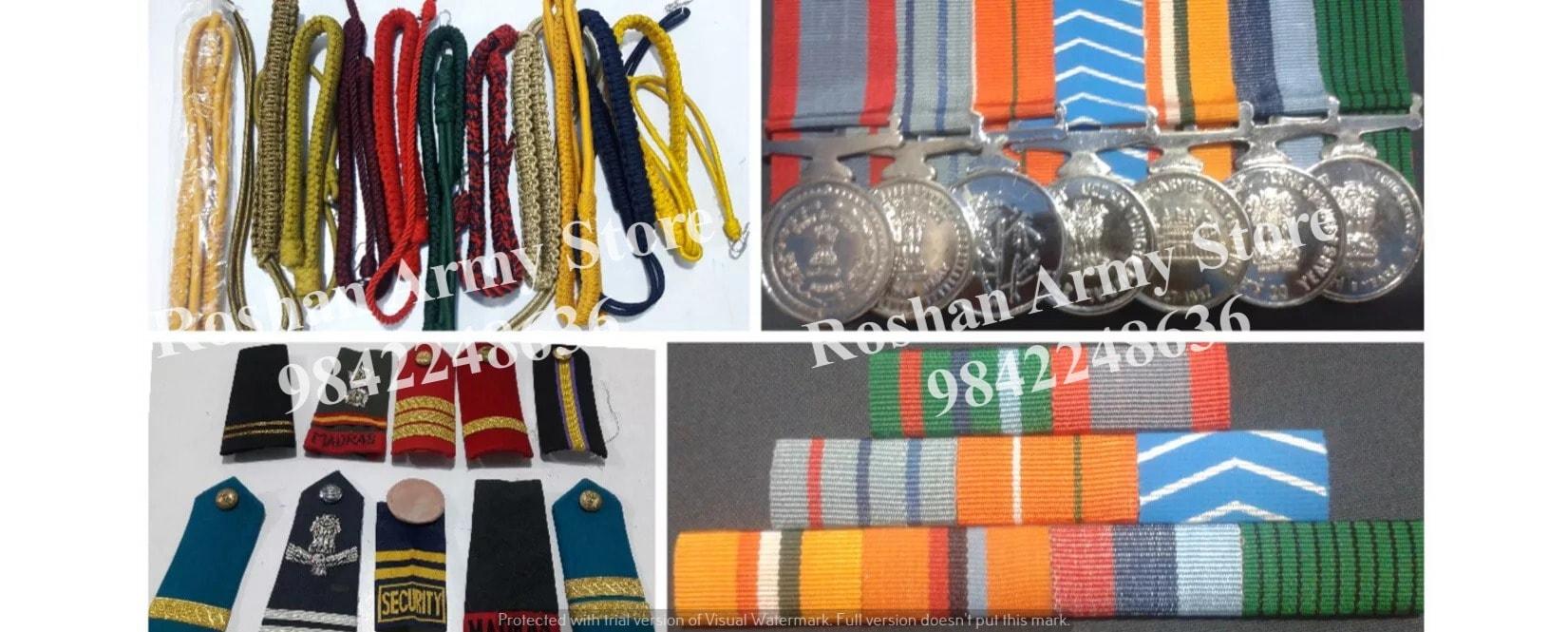 Roshan Army Store - Uniform Manufacturer and Supplier in Puliyakulam, Coimbatore