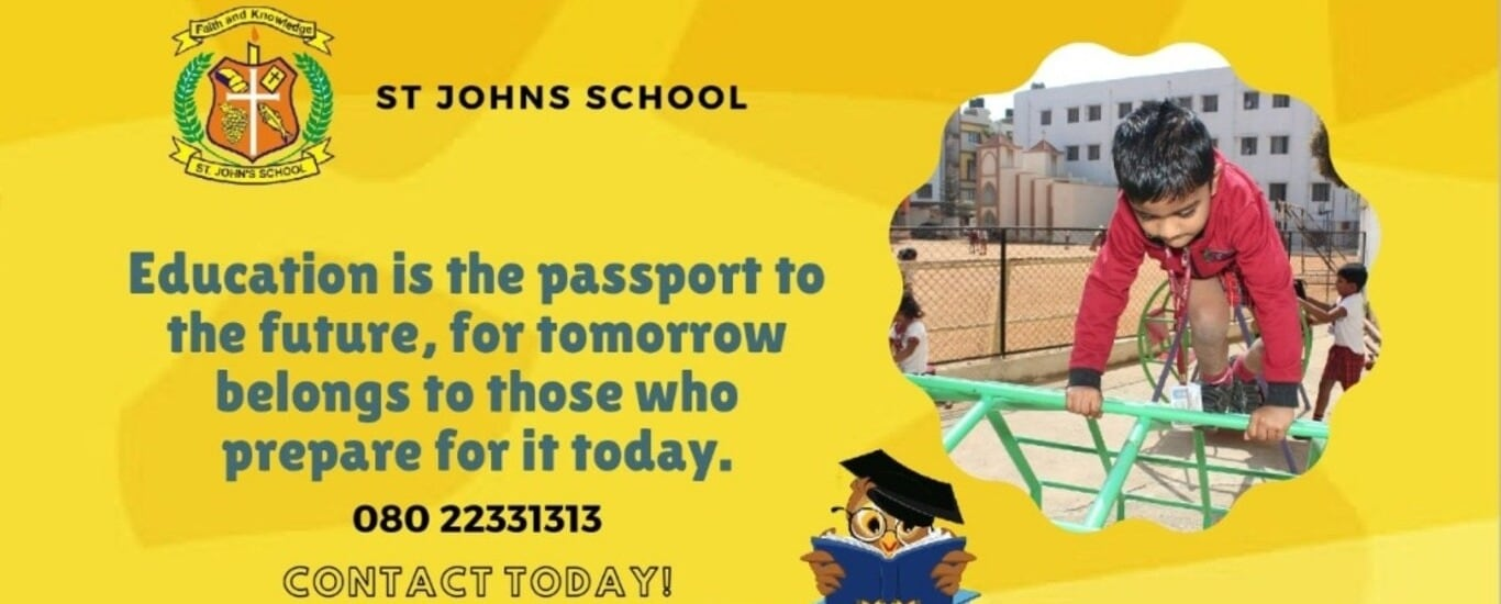 St. John's School - School in Hebbal, Bangalore